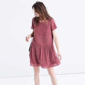 Madewell Silk Ascot Tile Dress